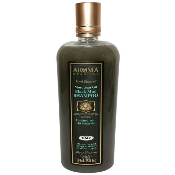 Шампунь лечебно-грязевой с Аргановым маслом AROMA Dead Sea 380 мл