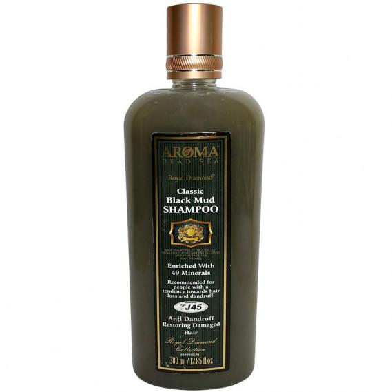 Шампунь лечебно-грязевой против выпадения волос и перхоти AROMA Dead Sea 380 мл