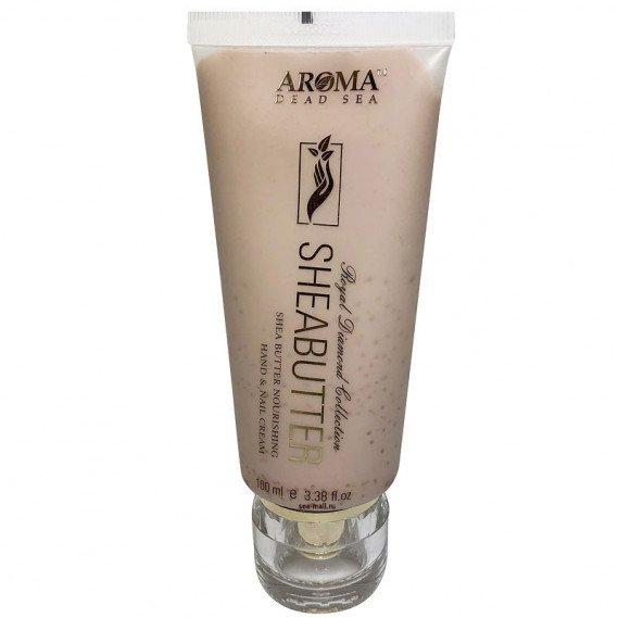 Крем для рук питательный с маслом ши (100 мл) AROMA Dead Sea