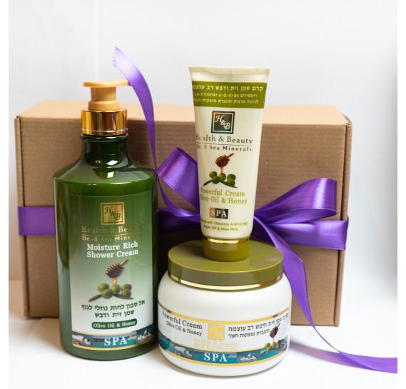BOX №29: Набор для тела Олива Health & Beauty 780 мл + 250 мл + 100 мл