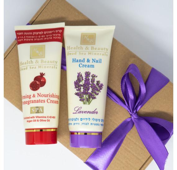 BOX №3: мини для рук и тела Health & Beauty 100 мл + 100 мл