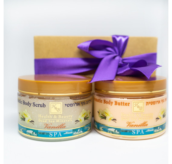 BOX №28: Спа набор Ваниль Health & Beauty 450 мл + 350 мл