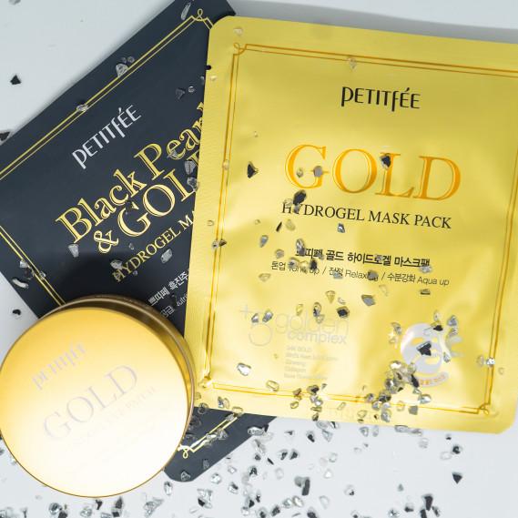 BOX №31: Золотой стандарт PETITFEE 60 шт + 1 шт + 1 шт