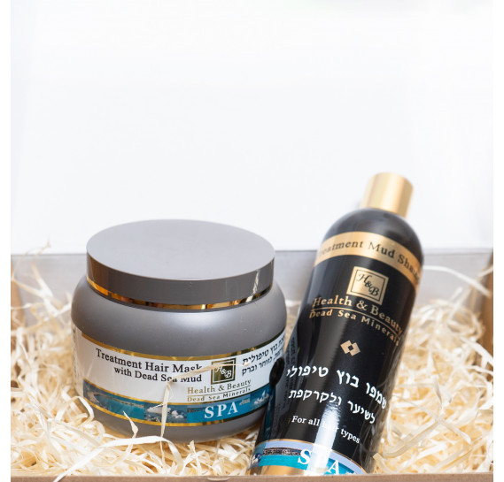 BOX №4: грязевой для волос Health & Beauty 400 мл + 250 мл