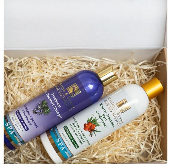 BOX №9 mini: для волос Крапива Health & Beauty 400 мл + 400 мл