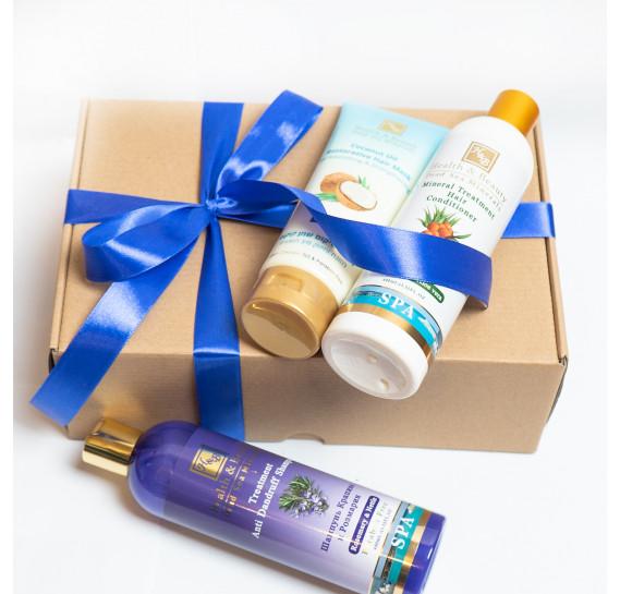 BOX №13: для волос Крапива Плюс Health & Beauty 400 мл + 400 мл + 200 мл