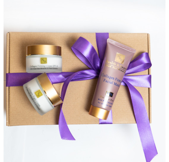 BOX №20: Коллагеновый набор для лица Health & Beauty 50 мл + 50 мл + 100  мл