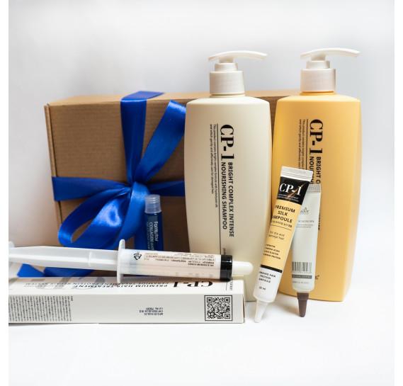BOX №33: Лучшее для волос из Кореи Esthetic House 500 мл + 500 мл + 25 мл + 20 мл + 15 мл + 13 мл