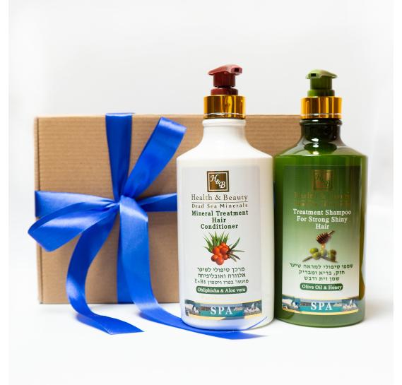 BOX №5 BIG: для волос Олива Health & Beauty 780 мл + 780 мл