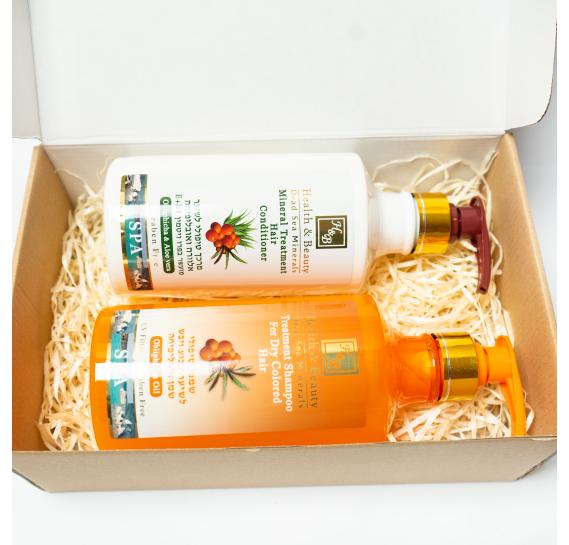 BOX №6 BIG: для волос Облепиха Health & Beauty 780 мл + 780 мл