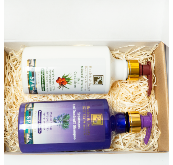 BOX №9 BIG: для волос Крапива Health & Beauty 780 мл + 780 мл