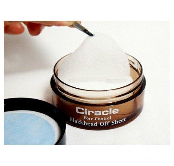 Пилинг салфетки для удаления черных точек Ciracle Pore Control Blackhead Off Sheet CIRACLE 35 шт