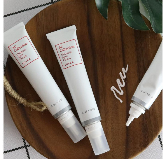 Лечебный локальный крем против акне COSRX AC Collection Ultimate Spot Cream 30 мл