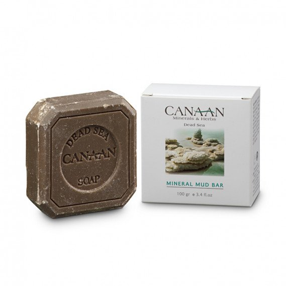 Грязевое мыло Canaan Minerals & Herbs 100 г