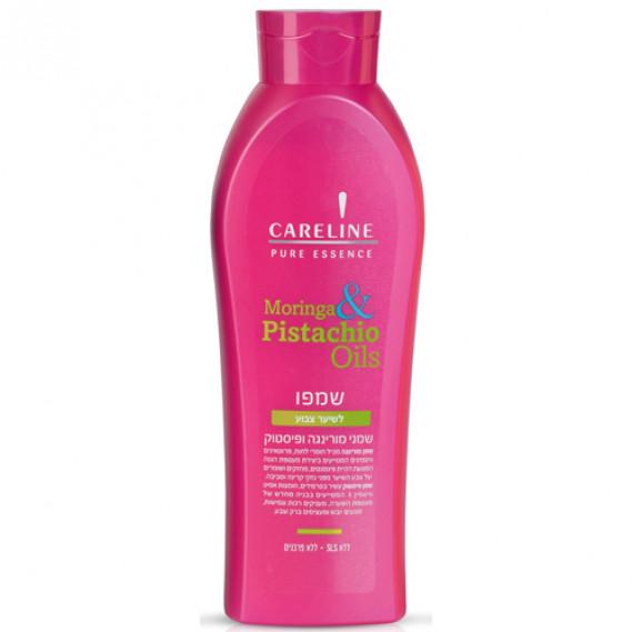 Шампунь для окрашенных волос Моринга и Фисташковое масло Careline 600 мл