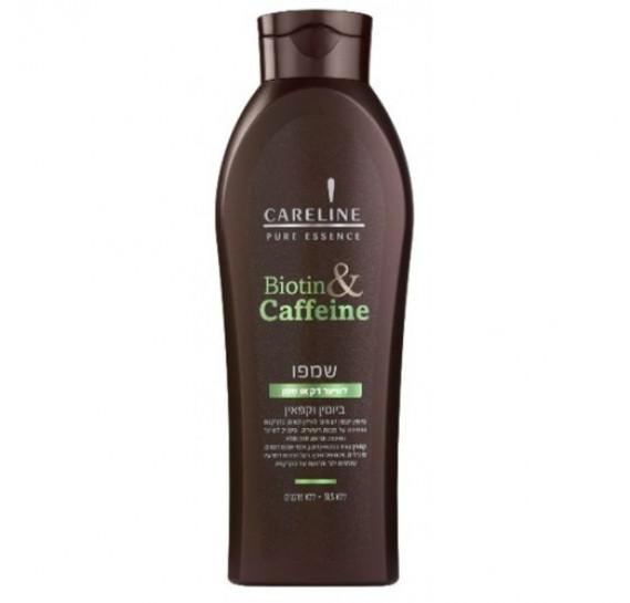 Набор для объема волос с Биотином и Кофеином Careline Шампунь 600 мл + Кондиционер 600 мл