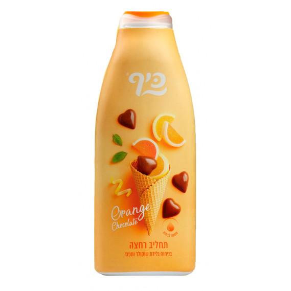 Увлажняющий гель для душа Мороженое - Апельсин в шоколаде Keff 700 мл