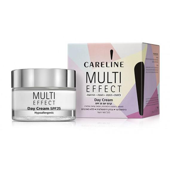 """Дневной крем для лица и шеи """"Multi Effect"""" SPF 25 Careline 50 мл"""