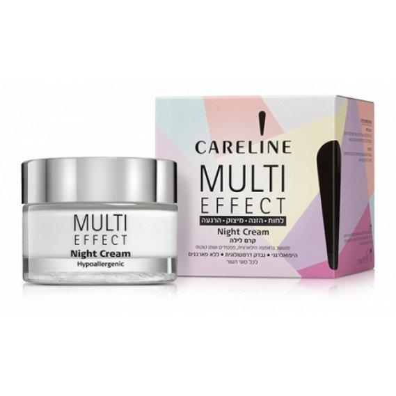 """Ночной крем для лица и шеи """"Multi Effect"""" Careline 50 мл"""