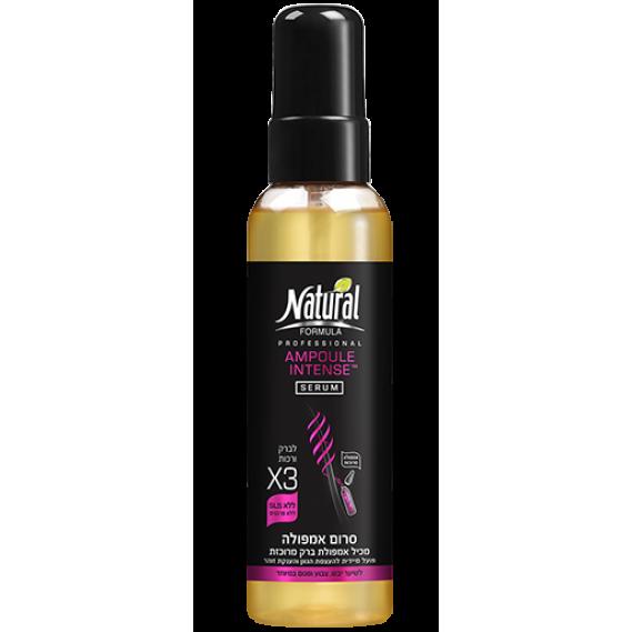 Лечебная сыворотка для волос Ampoule Intense Natural Formula 145 мл