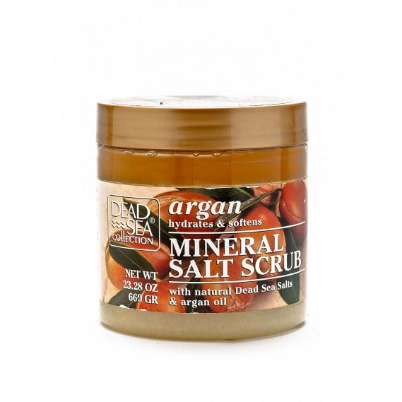 Скраб для тела с аргановым маслом и минералами Мертвого моря Dead Sea Collection 660 мл