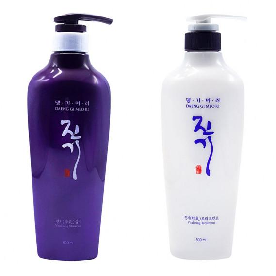 Набор Восстанавливающий Шампунь и Кондиционер от выпадения волос Daeng Gi Meo Ri Vitalizing 500 мл + 500 мл