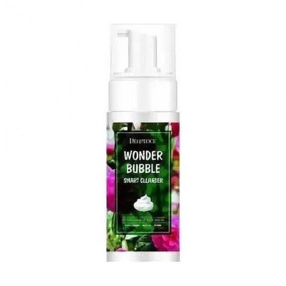 Умная пенка для умывания и снятия макияжа Deoproce Wonder Bubble smart cleanser 150 мл