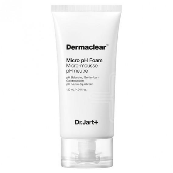 Пенка-Гель с глутатионом для умывания с Ph эффектом Dr.Jart Dermaclear Micro pH Foam Micro-mousse Dr. Jart+ 120 мл