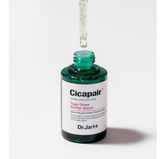 Восстанавливающая сыворотка-антистресс Dr.Jart+ Cicapair Serum Derma Green Solution Dr. Jart+ 30 мл