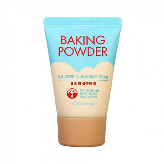Очищающая Пенка для глубокой очистки пор и снятия ББ-крема, Etude House Baking Powder B.B Deep Cleansing Foam MINI ETUDE HOUSE 30 мл
