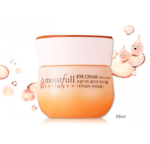 Омолаживающий крем с коллагеном для кожи вокруг глаз Etude House Moistfull Collagen Eye Cream ETUDE HOUSE 28 мл