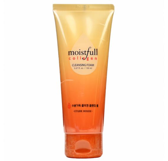 Коллагеновая пенка для интенсивного увлажнения кожи Etude House Moistfull Collagen Cleansing Foam ETUDE HOUSE 150 мл