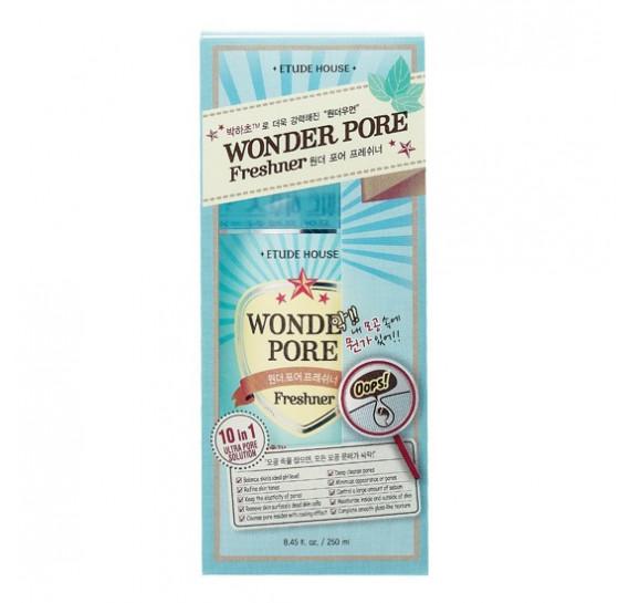 Тоник для сужения пор Etude House Wonder Pore Freshner ETUDE HOUSE 250 мл