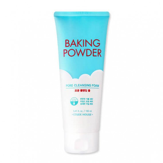 Очищающая пенка 3 в 1 с содой Etude House Baking Powder Pore Cleansing Foam ETUDE HOUSE 160 мл
