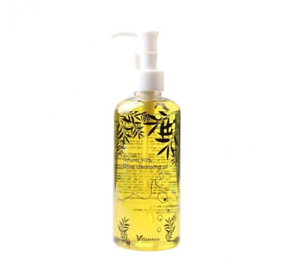 Гидрофильное масло с оливой Elizavecca 90% Olive Cleansing Oil 300 мл