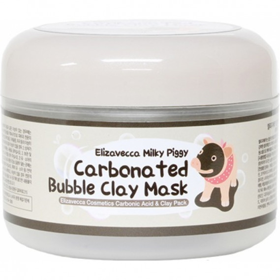 Маска пузырьковая для глубокого очищения пор Elizavecca Carbonated Bubble Clay Mask 100 мл
