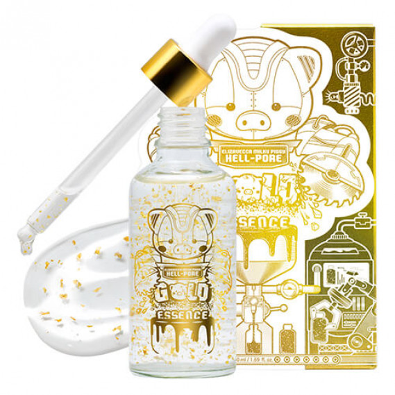 Увлажняющая омолаживающая эссенция с золотом Elizavecca Milky Piggy Hell-Pore Gold Essence 50 мл