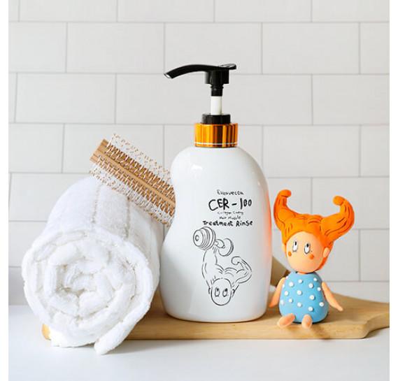 Питательный бальзам для волос с коллагеном Elizavecca CER-100 Collagen Coating Hair Muscle Treatment Rinse 500 мл