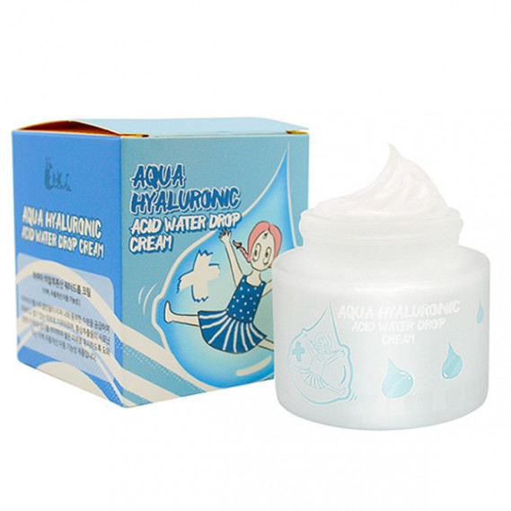 Увлажняющий гиалуроновый крем Elizavecca Aqua Hyaluronic Acid Water Drop Cream 50 мл