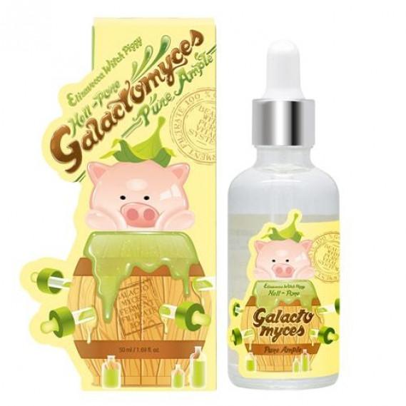 Сыворотка со 100% экстрактом Галактомисиса Elizavecca Witch Piggy Hell-Pore Galactomyces Pure Ample 100% 50 мл