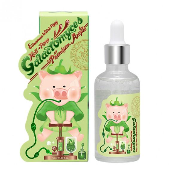Сыворотка с 97% Галактомисиса Elizavecca Witch Piggy Hell-Pore Galactomyces 97% Premium Ample 50 мл