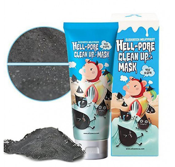 Маска-плёнка для очищения пор Elizavecca Milky Piggy Hell-Pore Clean Up Mask 100 мл
