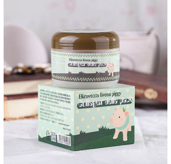 Коллагеновая маска Elizavecca Green Piggy Collagen Jella Pack 100 мл