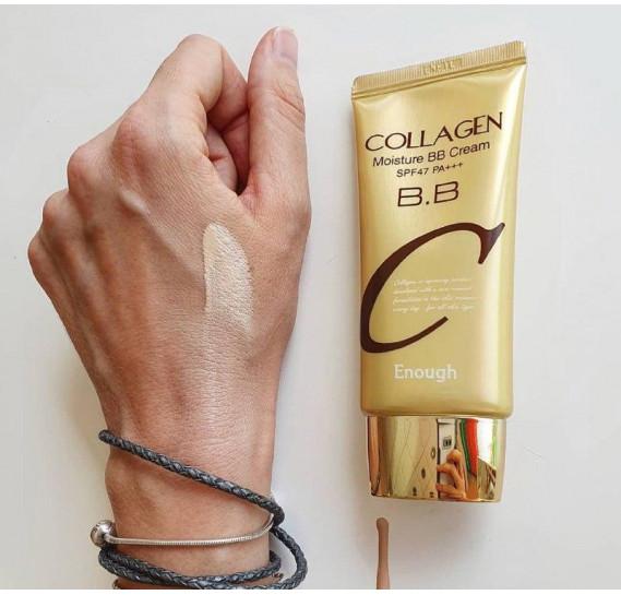 Увлажняющий коллагеновый BB-крем ENOUGH Collagen Moisture BB Cream SPF-47 PA+++ Enough 50 мл