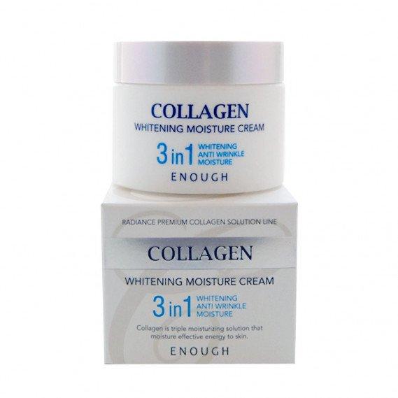 Крем для лица тройного действия Enough Collagen Whitening Moisture Cream 3 in 1 50 мл