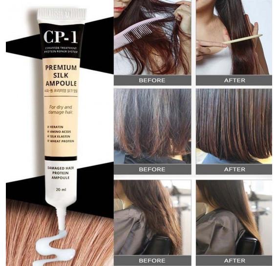 Восстанавливающая сыворотка для волос Esthetic House CP-1 Premium Silk Ampoule - 20 мл