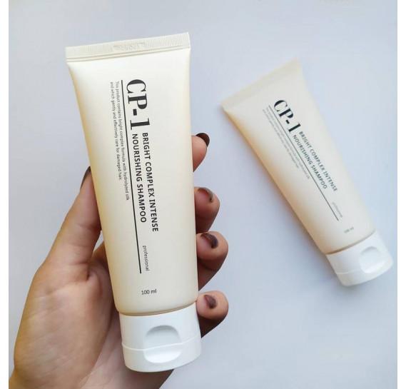 Интенсивно питающий шампунь для волос Esthetic House CP-1 Bright Complex Intense Nourishing Shampoo 100 мл