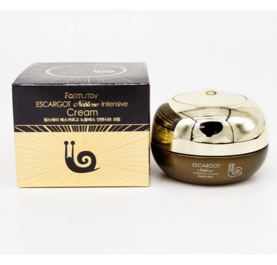 Регенерирующий крем с муцином улитки для ухода за зрелой кожей Farmstay Escargot Noblesse Intensive Cream FARMSTAY 50 мл