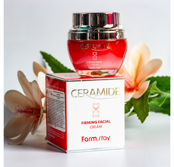 Укрепляющий крем для лица с керамидами FarmStay Ceramide Firming Facial Cream FARMSTAY 50 мл