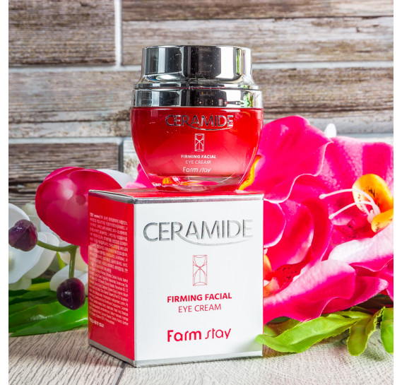 Укрепляющий крем для кожи вокруг глаз с керамидами FarmStay Ceramide Firming Facial Eye Cream FARMSTAY 50 мл